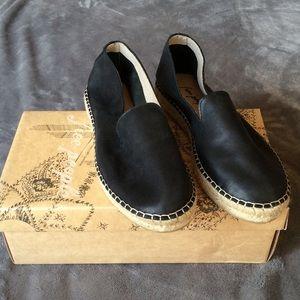 NIB Free People Laurel Canyon Leather Espadrilles
